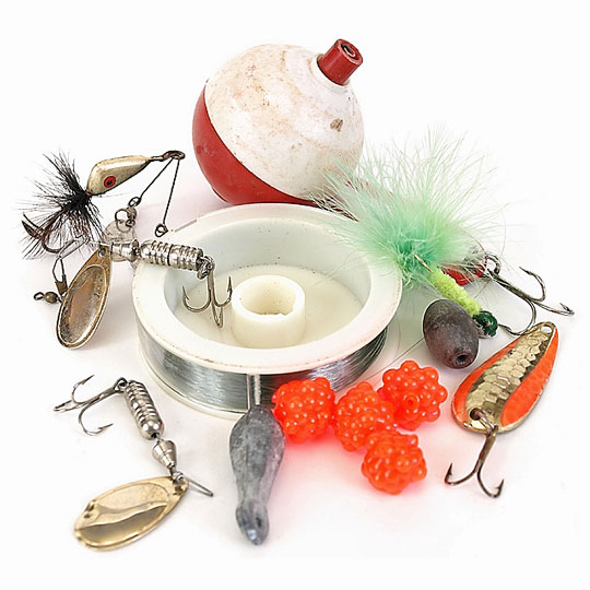 fishing gear and accessories