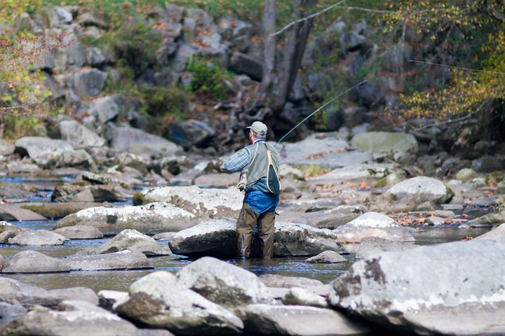 Fishing tackle suppliers in tennessee for Fly fishing smoky mountains